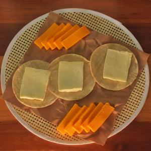 Tierno queso mantequilla